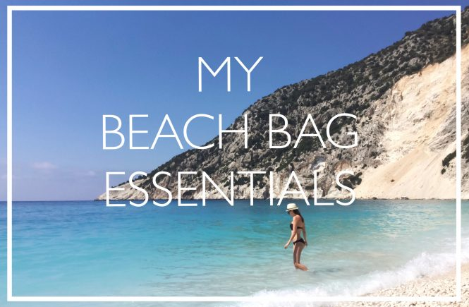 vienna lifestyle blog whats in my beach bag
