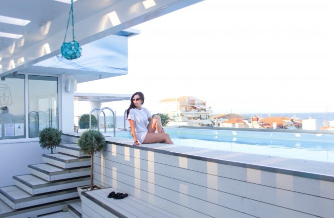 vienna lifestyle blog rostos rooftop bar - top things to do in zakynthos
